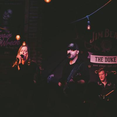 Duke Saloon With The County Line